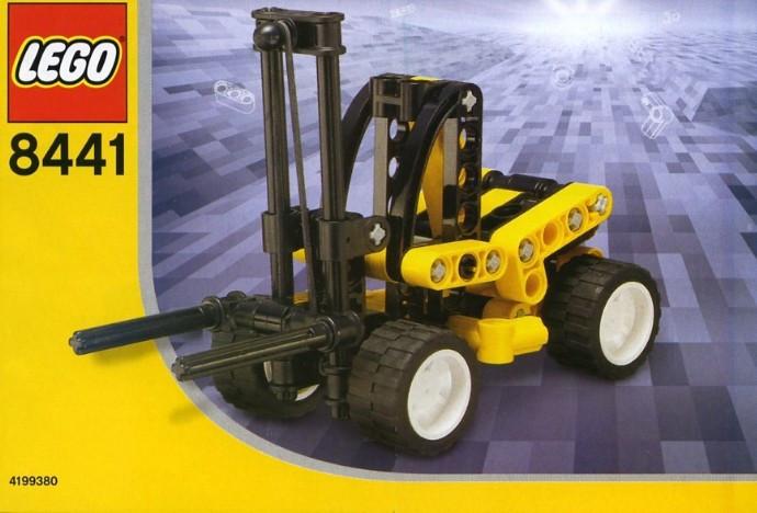 8441 1 Forklift Truck Swooshable