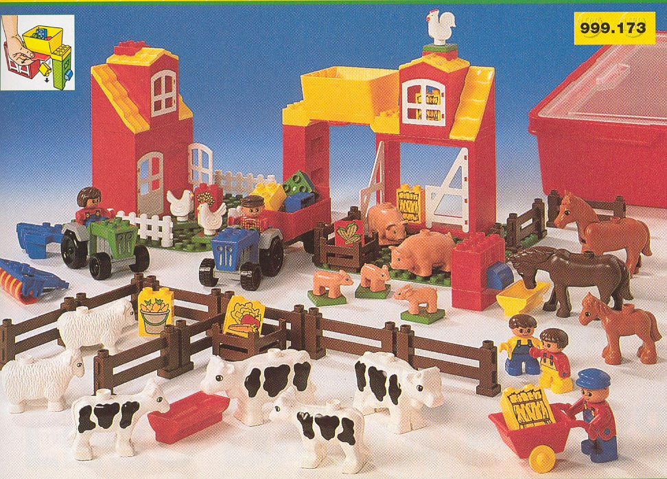 9173 1 Duplo Farm Swooshable