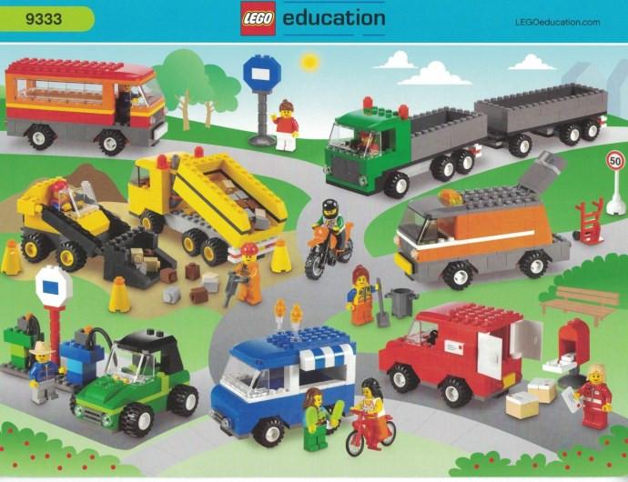 9333-1 Vehicles Set - Swooshable