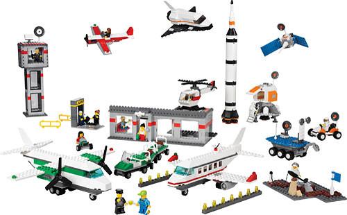 9335 1 Space Amp Airport Set Swooshable