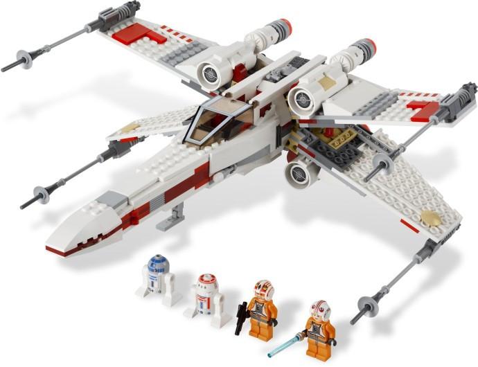 9493 1 X Wing Starfighter Swooshable