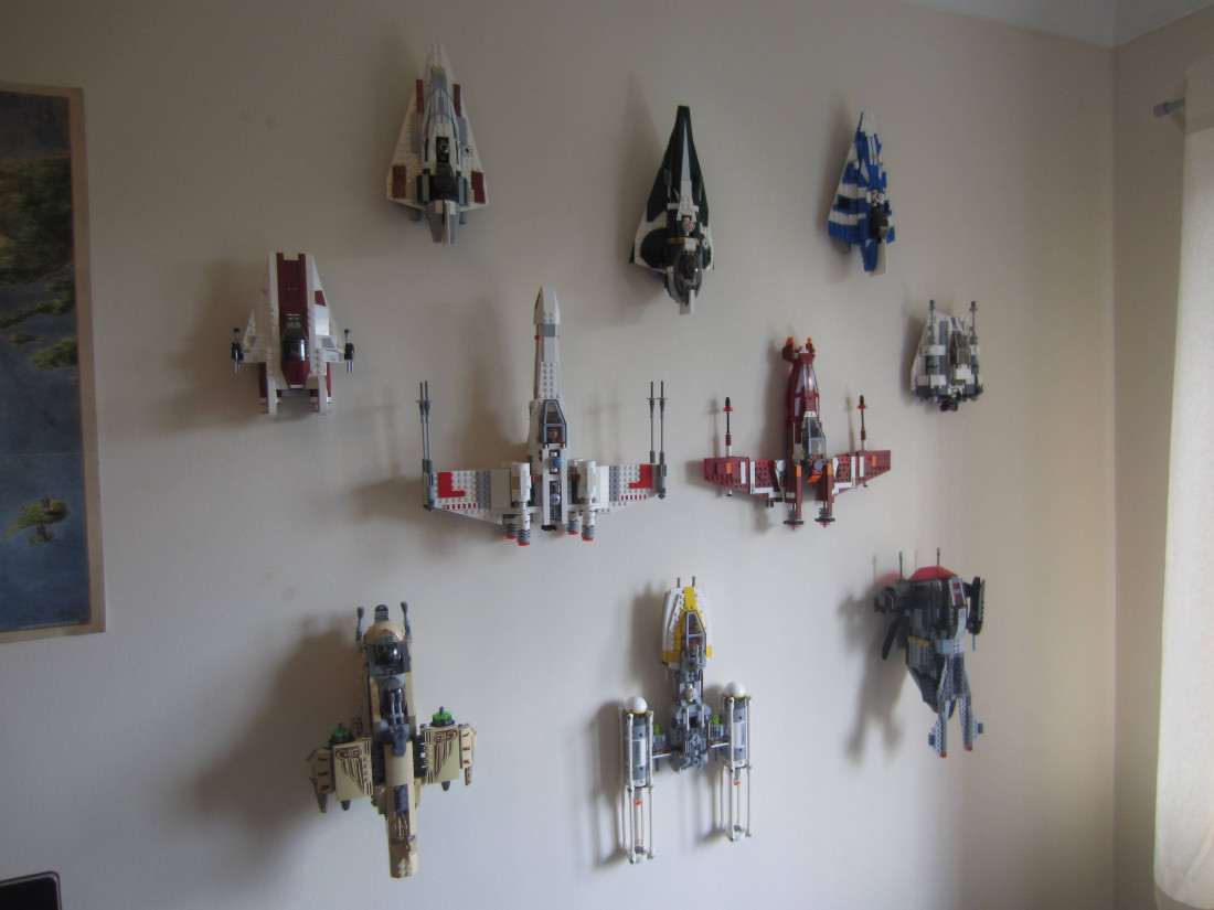 How To Wall Mount Lego Models Swooshable