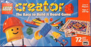 The Race to Build It Board Game