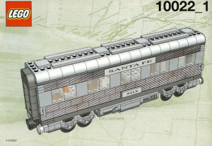 Santa Fe Cars - Set II (dining, observation, or sleeping car)