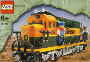 Burlington Northern Santa Fe (BNSF) GP-38 Locomotive