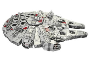 Rebuilding 10179-1 Millenium Falcon and saving money