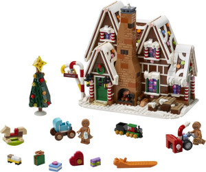 Winter village set