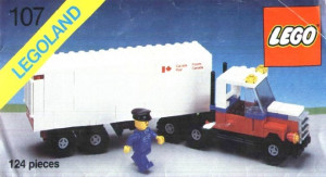 Canada Post Mail Truck