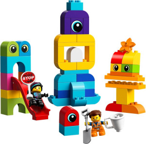 Emmet and Lucy's Visitors from the DUPLO