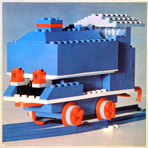 Locomotive with Motor