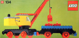 Mobile Crane and Waggon