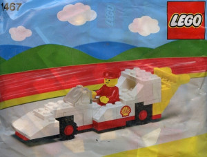 Shell Race Car polybag
