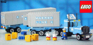 Maersk Line Container Truck