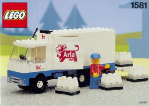 Arla Milk Delivery Truck