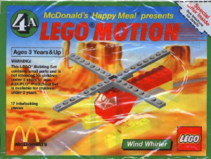 Lego Motion 4A, Wind Whirler polybag
