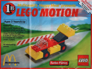 Lego Motion 1B, Turbo Force polybag