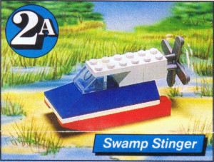 Lego Motion 2A, Swamp Stinger polybag
