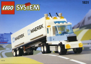 Maersk Line Container Lorry
