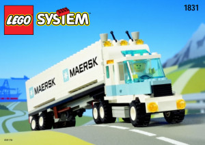 Maersk Sealand Container Lorry