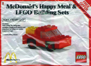 LEGO Building Set A, Car polybag