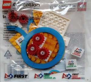First Lego League medal