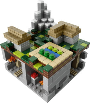Minecraft Micro World - The Village