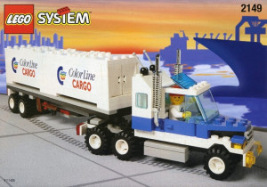 Color Line Container Lorry