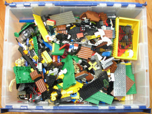 How to organize your bricks for efficient building