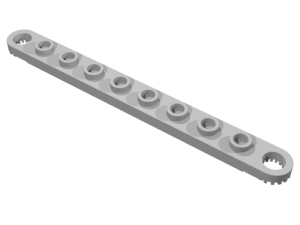 Technic Plate 1 x 10 with Holes