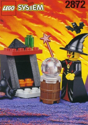 Witch and Fireplace