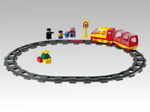 Train Starter Set with Motor