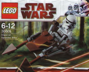 Imperial Speeder Bike - Mini polybag