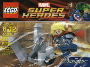 Thor and the Cosmic Cube polybag