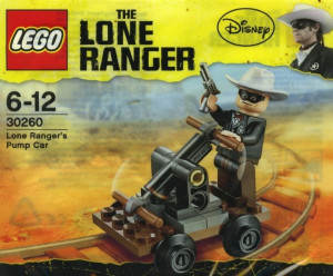 Lone Ranger's Pump Car polybag