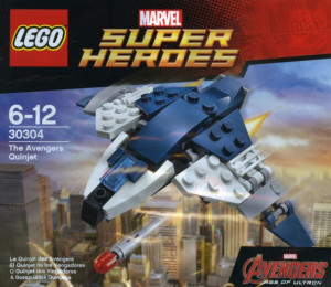 The Avengers Quinjet polybag