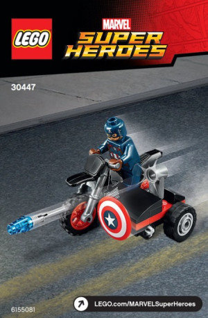Captain America's Motorcycle polybag