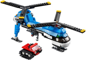 Twin Spin Helicopter