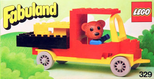 Bernard Bear and Pickup Truck