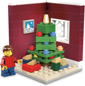Christmas Tree Scene (Limited Edition 2011 Holiday Set (1 of 2))