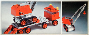 Truck with Crane and Caterpillar Track