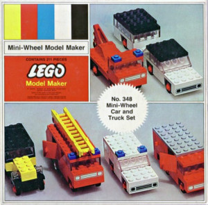 Mini-Wheel Car and Truck Set