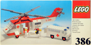 Helicopter and Ambulance