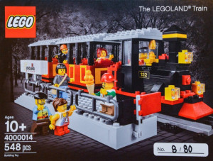 LEGO Inside Tour (LIT) Exclusive 2014 Edition - The LEGOLAND Train