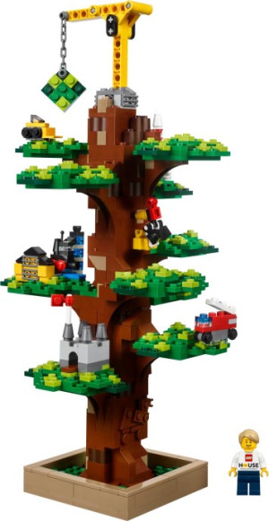 LEGO House tree of creativity