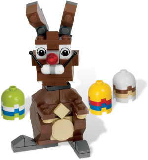Easter Bunny with Eggs polybag