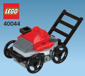 Monthly Mini Model Build Set - 2012 06 June, Lawnmower