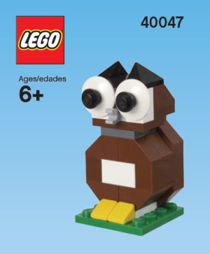 Monthly Mini Model Build Set - 2012 09 September, Owl