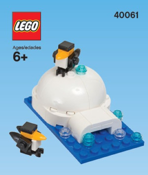Monthly Mini Model Build Set - 2013 01 January, Igloo