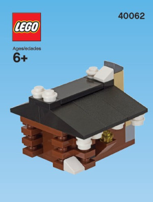 Monthly Mini Model Build Set - 2013 02 February, (Log) Cabin