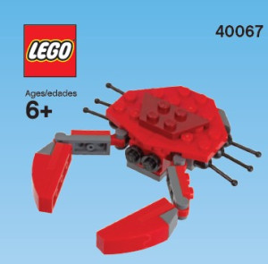 Monthly Mini Model Build Set - 2013 07 July, Crab